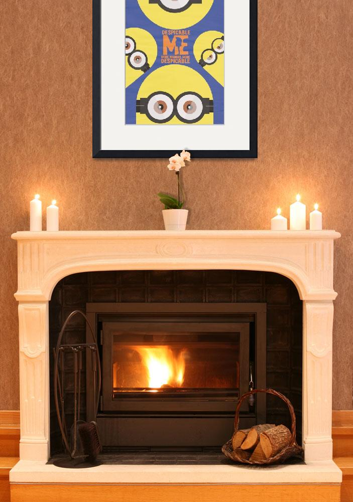 """Despicable me, Animated Movie, minions, film&quot  (2015) by Illustrationstefano"