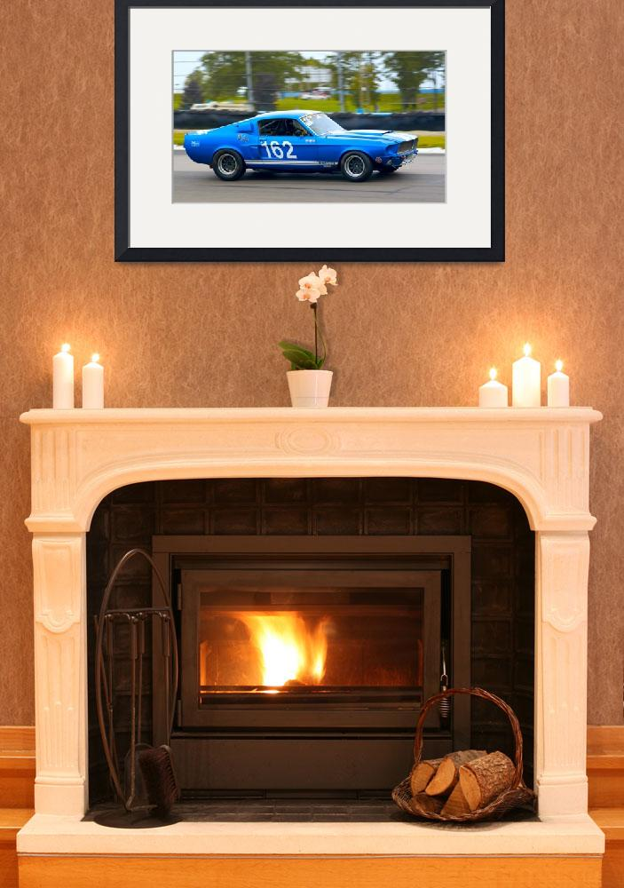 """Thoughts of Blue - Mustang GT350&quot  (2009) by auto-utopia"