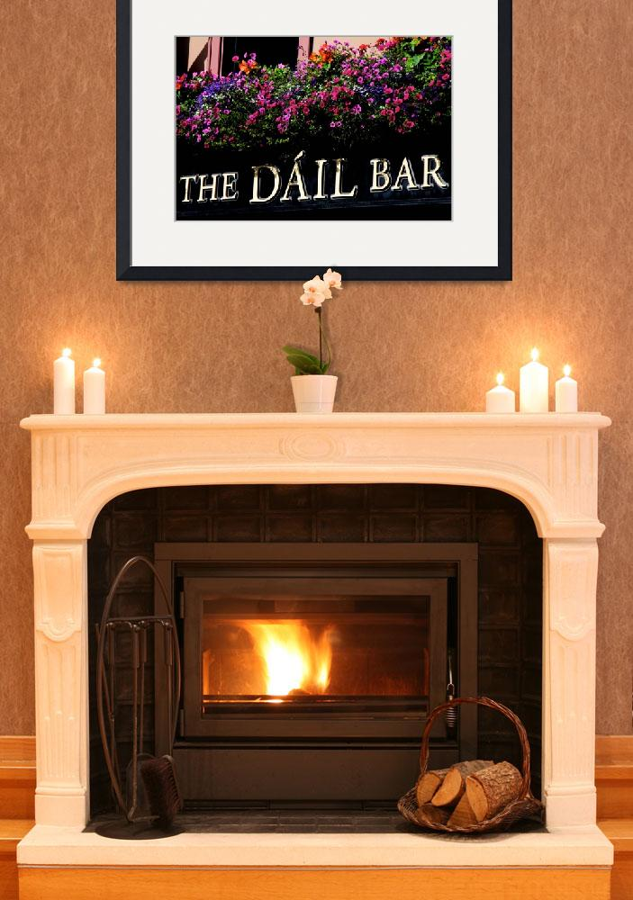 """The Dáil Bar&quot  (2011) by PadgettGallery"