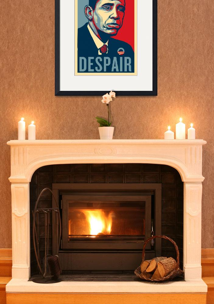 """Sad Obama Despair&quot  (2011) by libertymaniacs"