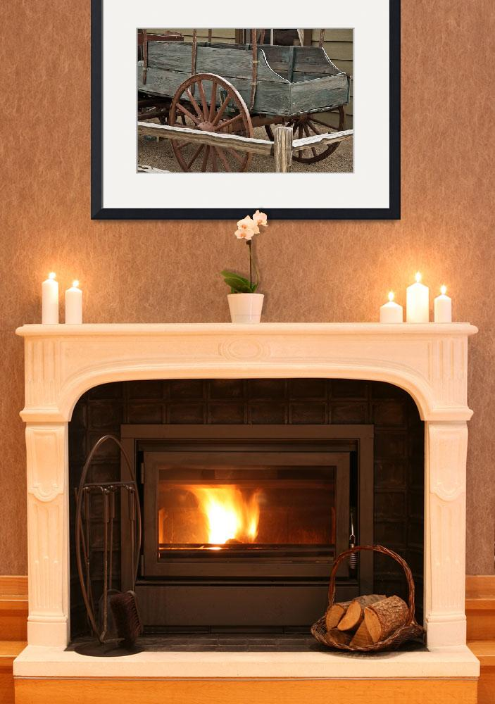 """Green Wagon&quot  (2014) by Kirtdtisdale"