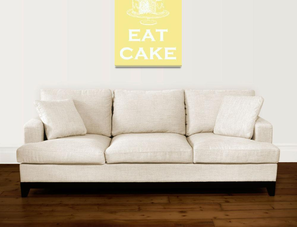 """Eat Cake&quot  (2009) by rickimountain"