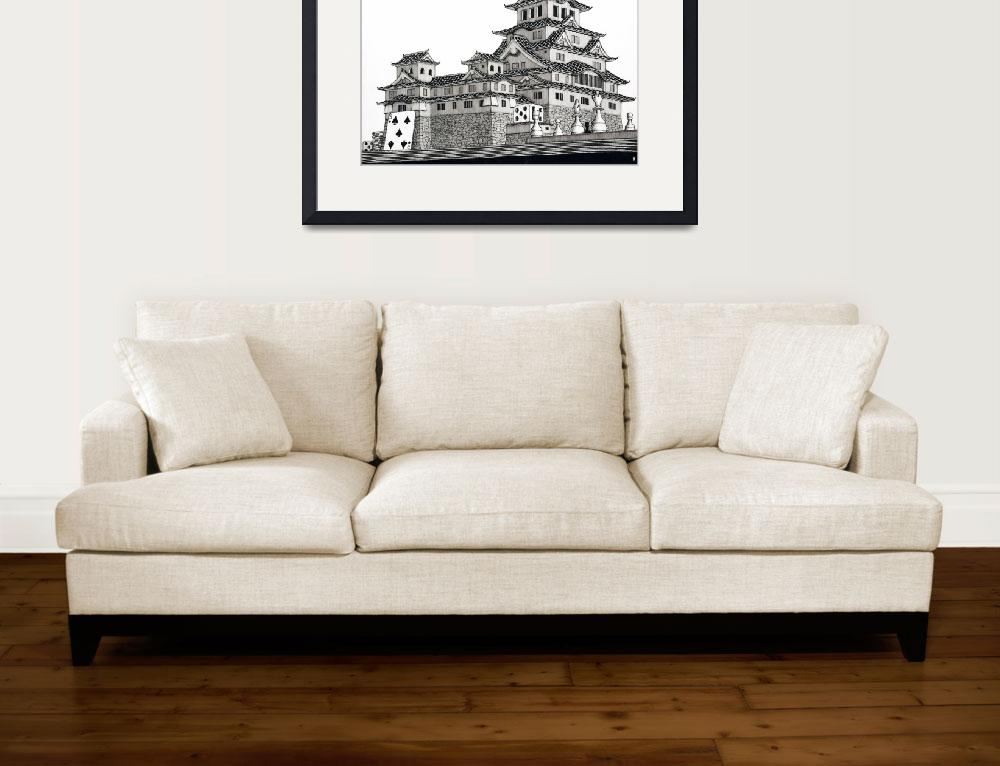 """Himeji Castle&quot  (2007) by iroot"