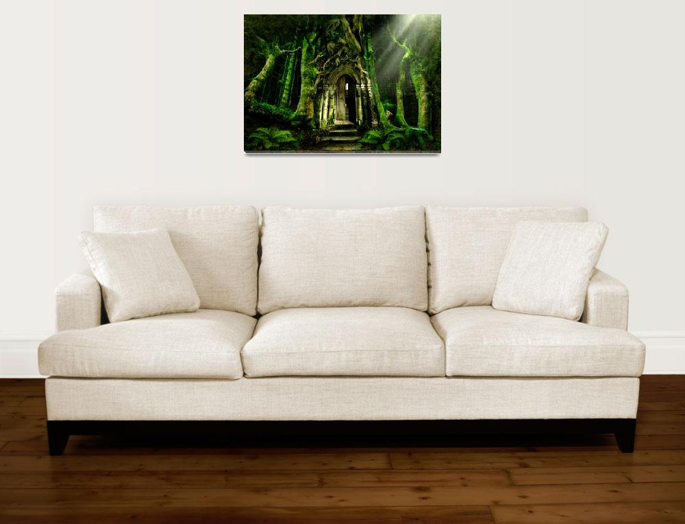 """The Emerald Forest&quot  (2008) by AngelaBarnett"