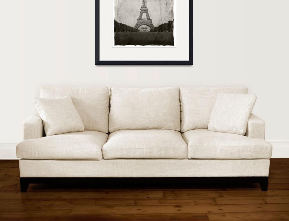 """eiffel tower in paris&quot  by danielvineyard"