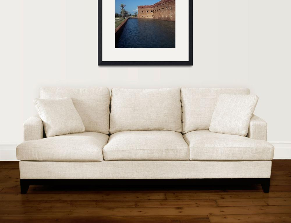 """Fort Jefferson, Dry Tortugas National Park&quot  (2007) by mallseitz"