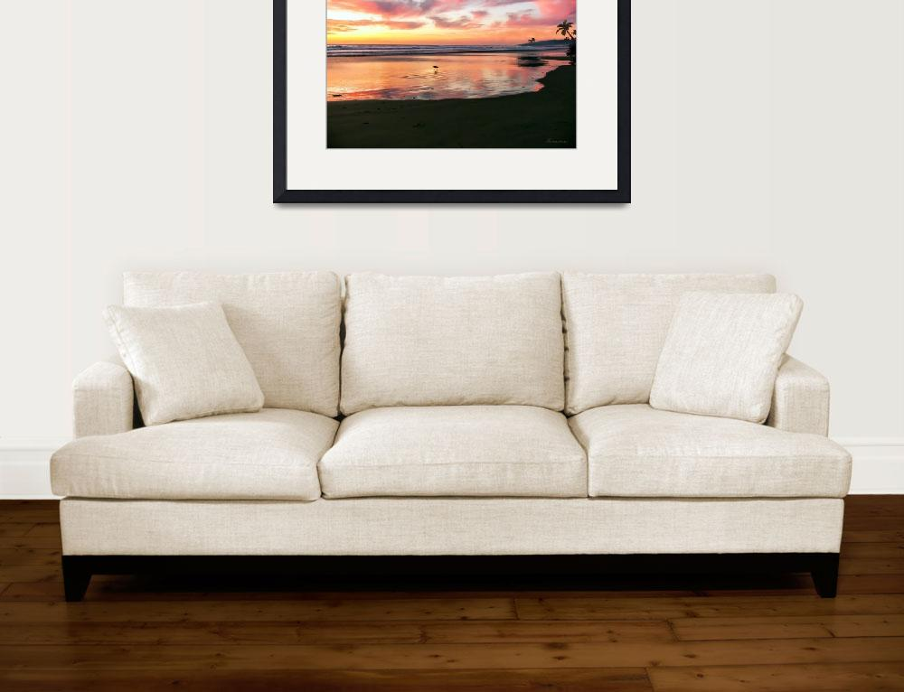 """Tropical Sunrise Morning Bliss Seascape C7&quot  (2015) by Ricardos"