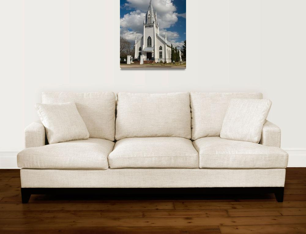 """St. Joseph Catholic Church in New Waverly Texas&quot  (2009) by tex"