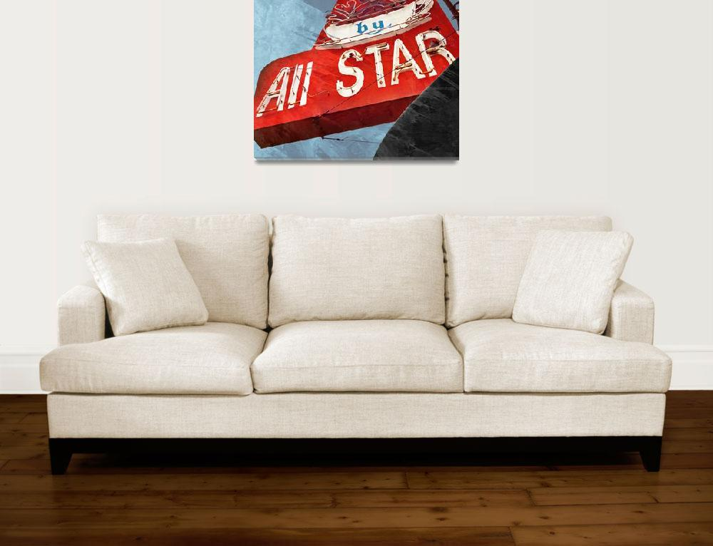 """All_Star_236PM_18x18&quot  (2013) by mcconnico"