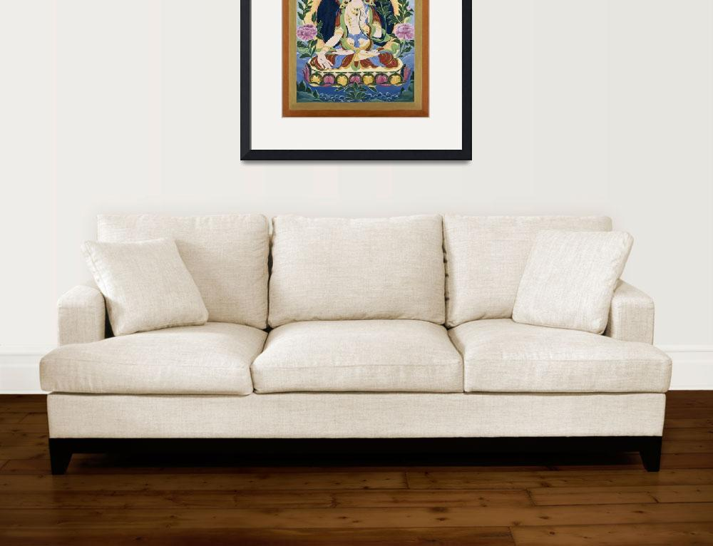 """White Tara&quot  (2009) by nancygrice"