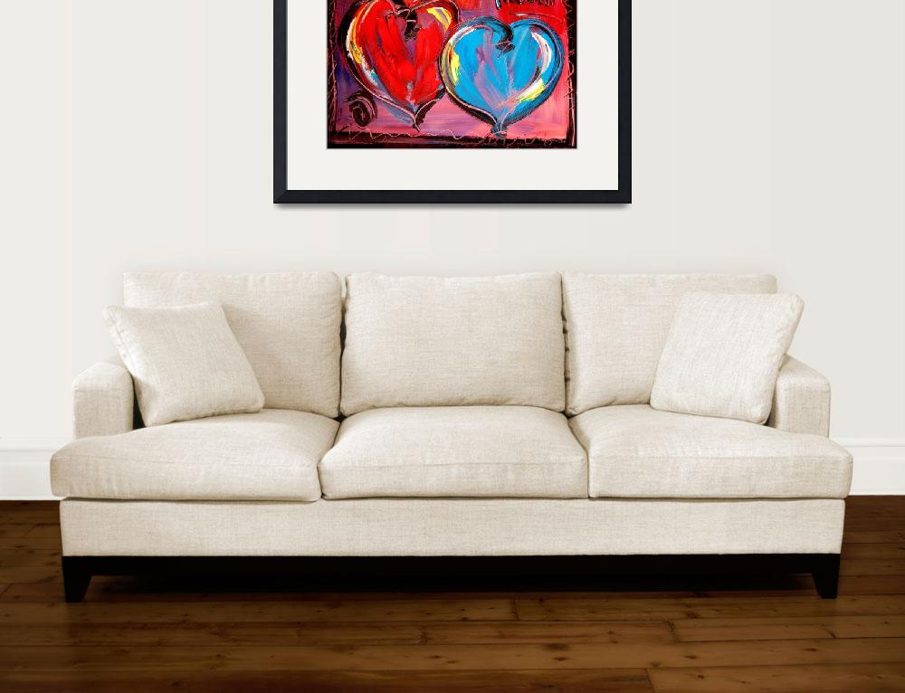 """HEARTS&quot  (2009) by milagallery"