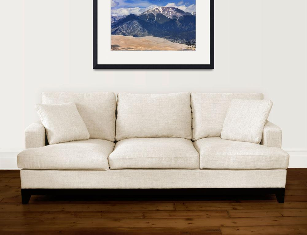 """The Great Colorado Sand Dunes  125&quot  (2010) by lightningman"