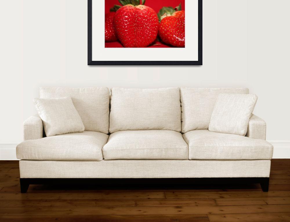 """Strawberry time&quot  (2010) by Albertphoto"