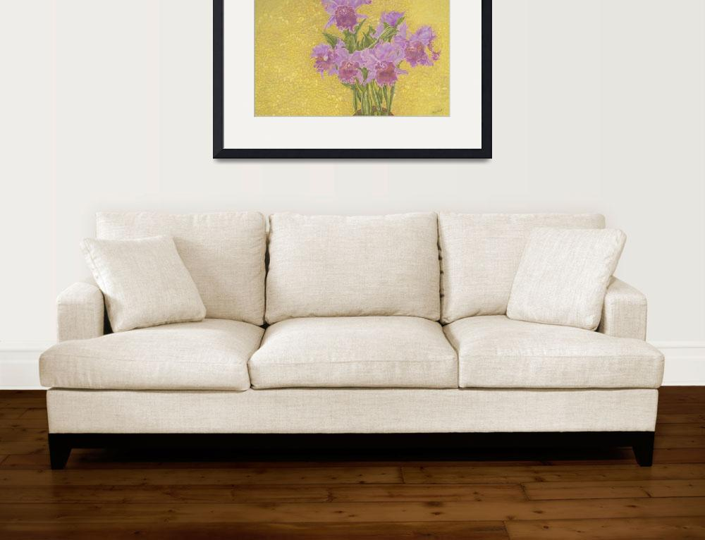 """Fine Art Prints Orchids Flowers Orchids Wall Art&quot  (2008) by BasleeTroutman"