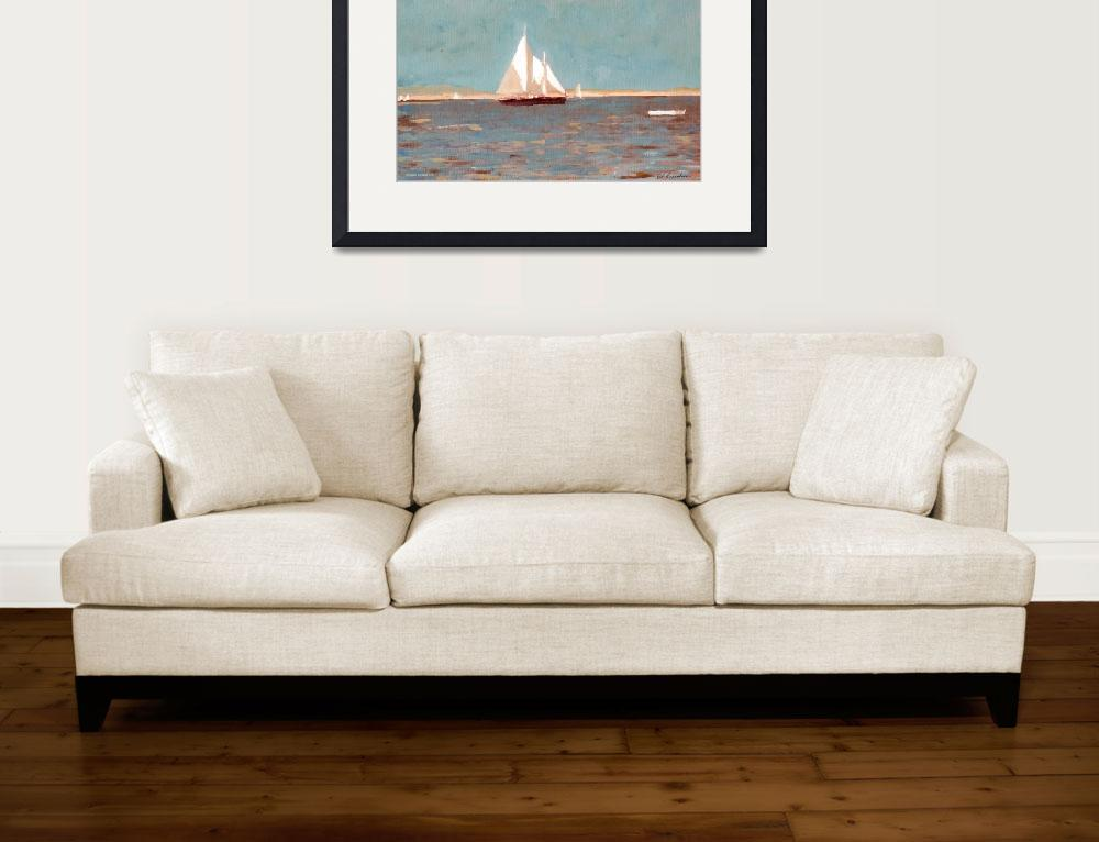 """Morning in The Bay by RD Riccoboni&quot  (2007) by BeaconArtWorksCorporation"