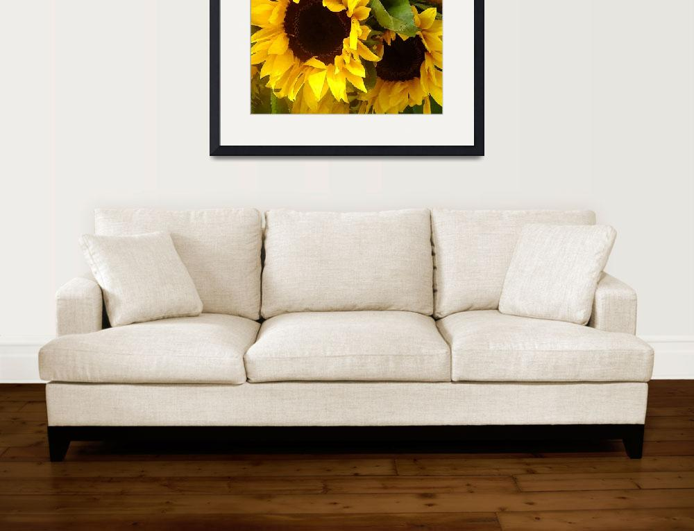 """Sunflowers&quot  (2009) by AmyVangsgard"