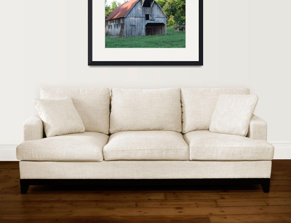 """Rustic Barn&quot  (2009) by Hartphotography"