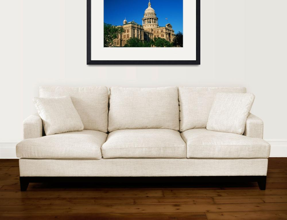 """State Capitol Building Austin TX&quot  by Panoramic_Images"