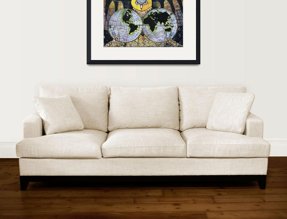 """Nights Owl&quot  (2012) by marketart"