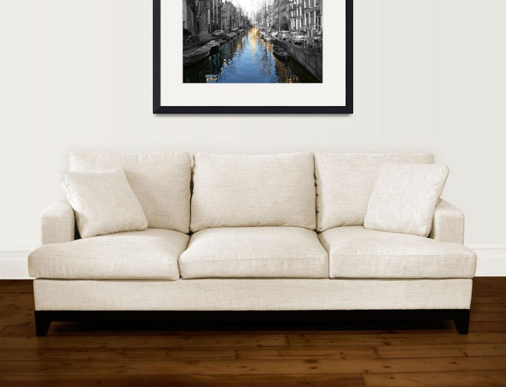 """Amsterdam Canal&quot  (2009) by klewis"