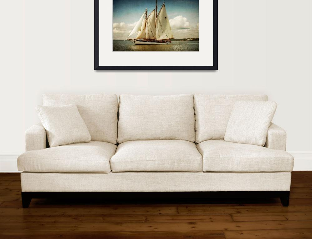 """Zodiac Tall Ship&quot  (2012) by EdmundLowe"