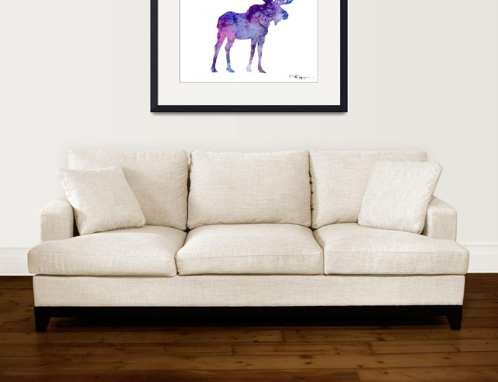 """Moose&quot  (2015) by k9artgallery"