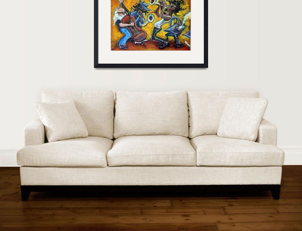 """The Jazz Trio&quot  (2009) by jasongluskinart"