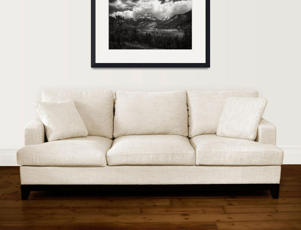 """Rocky Mountain Storm&quot  (2013) by PadgettGallery"