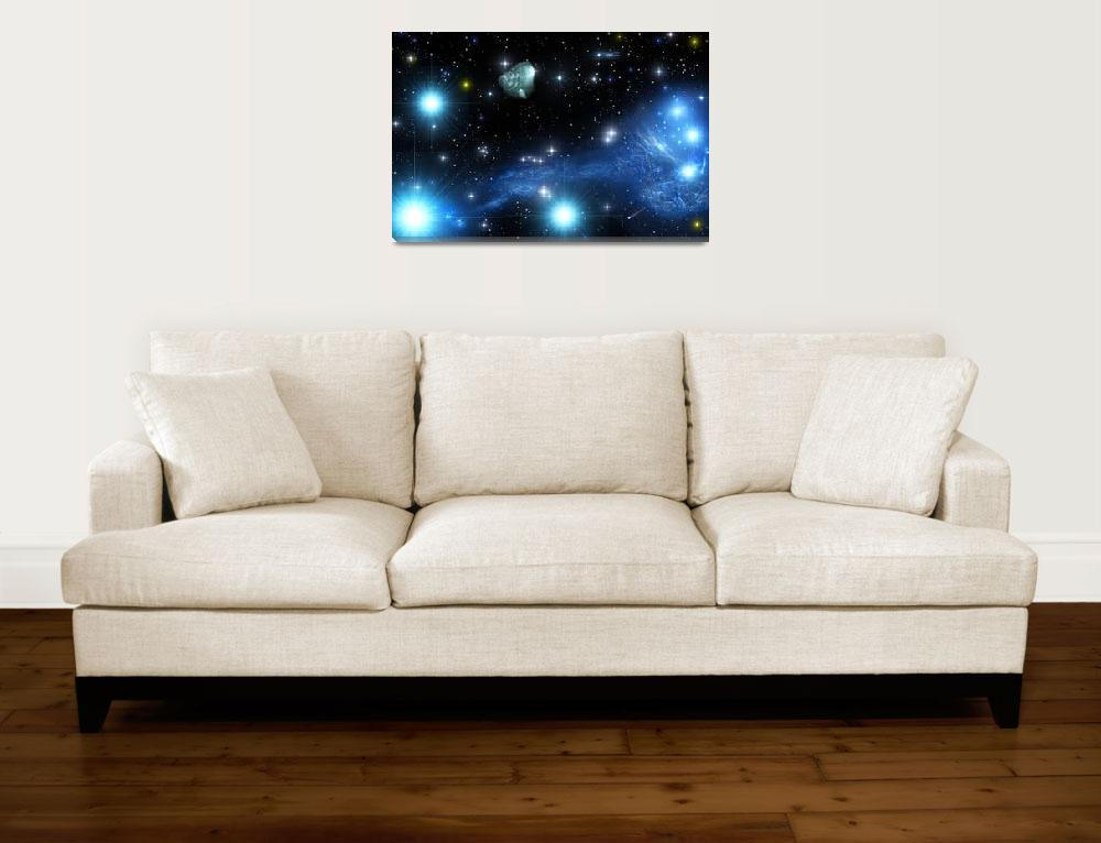 """Jumping Fish Nebula&quot  (2009) by RandallKlopping"
