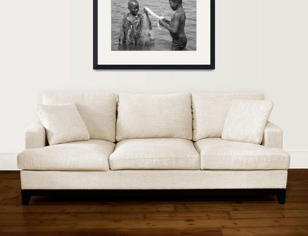 """Boys Fishing&quot  (2008) by bhphotography"