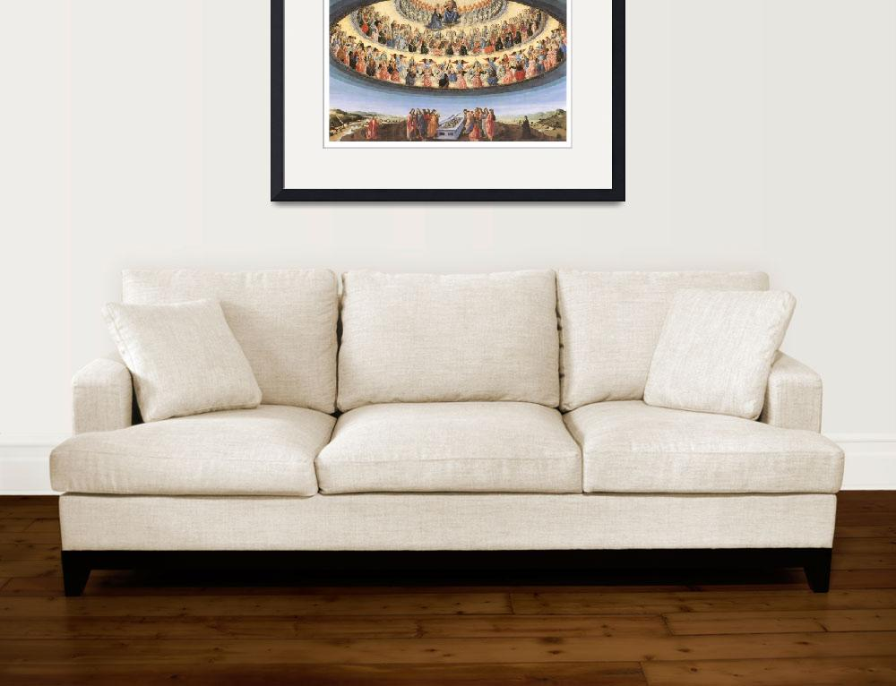 """Assumption of the Virgin by Francesco Botticini&quot  by ArtLoversOnline"