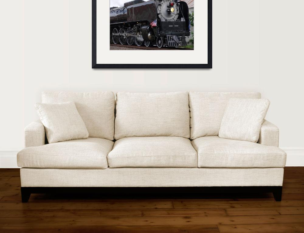"""The UPRR 844 Steam Locomotive in Topeka!&quot  (2012) by TheElectricOrphanage"