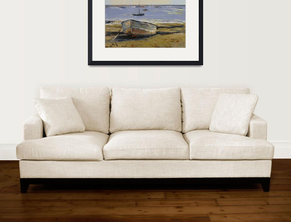 """Boats in Provincetown Harbor&quot  by creese"