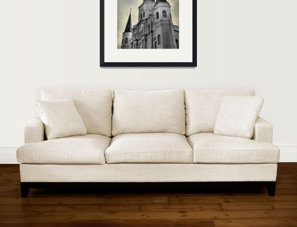 """St Louis Cathedral&quot  (2010) by leapdaybride"