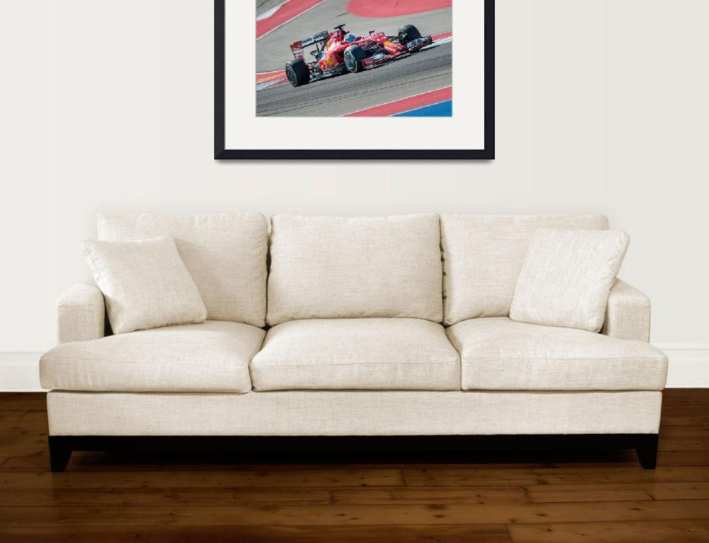 """Fernando Alonso at Circuit of the Americas&quot  (2014) by dawilson"