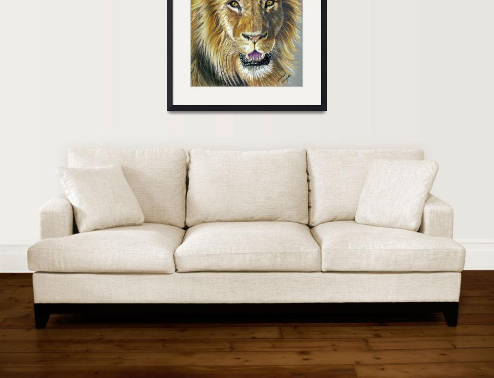 """""We Three Kings Part II - Lion""&quot  by MichelleWrighton"