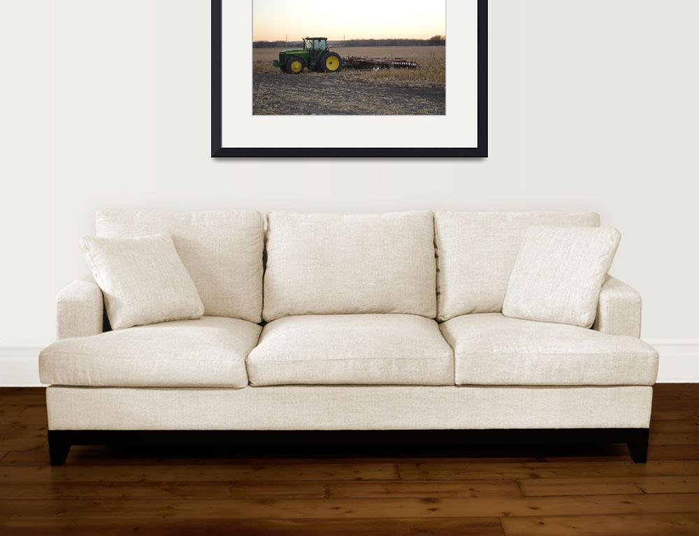 """John Deere And Disc&quot  (2012) by Renie"