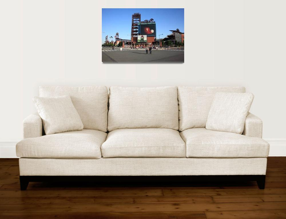 """Citizens Bank Park - Philadelphia Phillies&quot  (2009) by Ffooter"