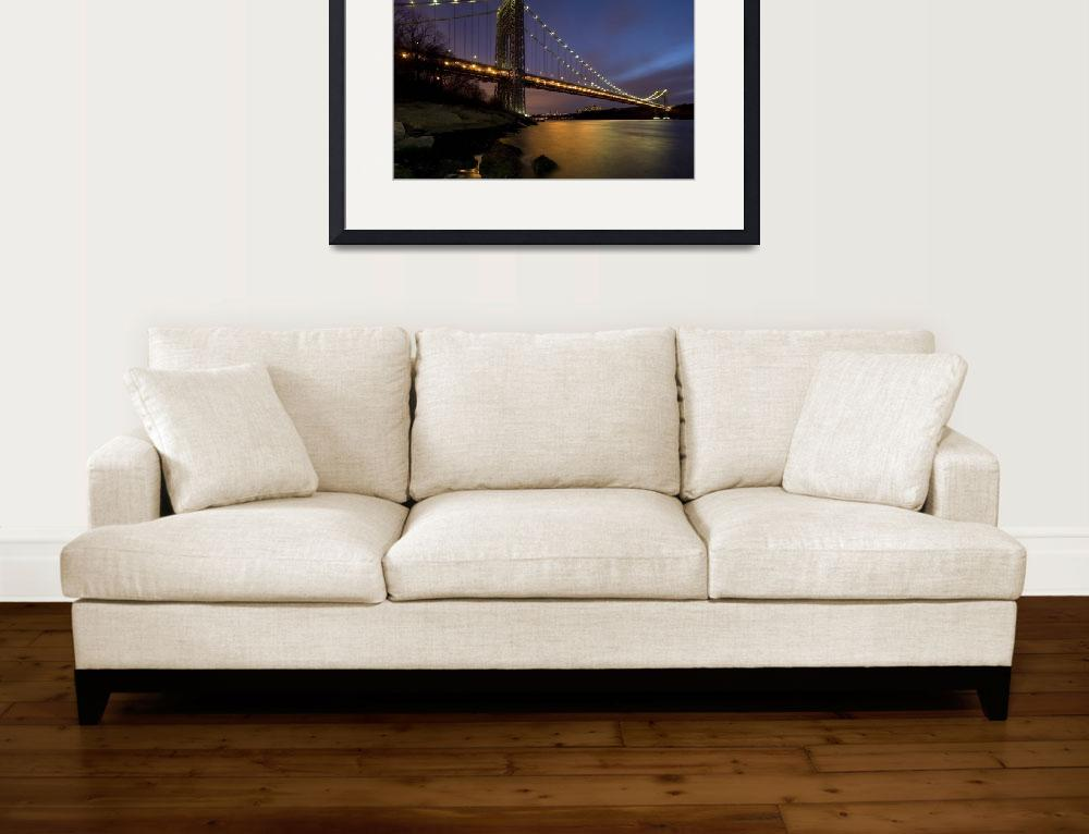 """George Washington Bridge&quot  by shep"