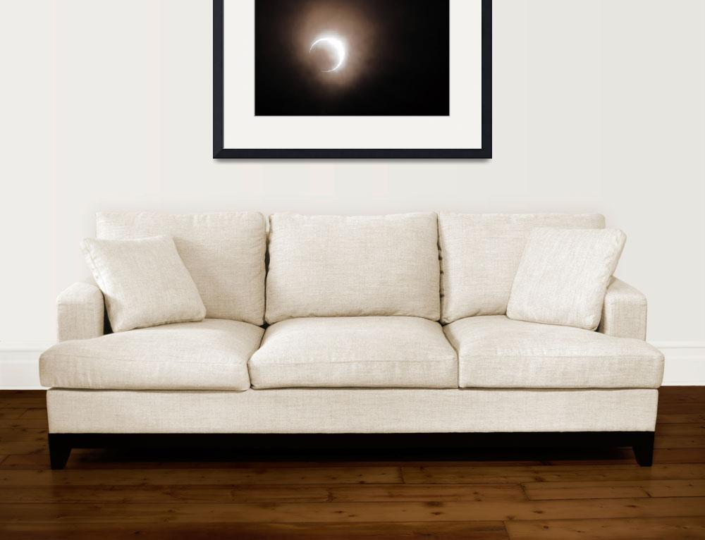 """2012 Solar Eclipse as Seen in Oregon&quot  (2012) by LauraM"