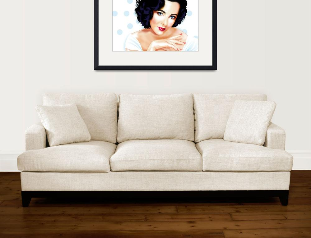 """Elizabeth Taylor&quot  (2011) by Brian_Gibbs"