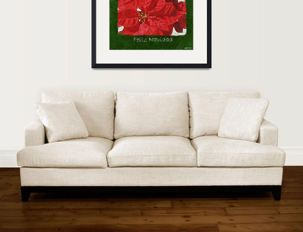 """Red Poinsettias 3 - Feliz Navidad&quot  (2009) by ChristopherInMexico"