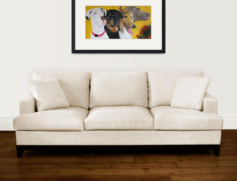"""Bright and Beautiful - ""Companions of Therapy""&quot  (2007) by ArtPrints"