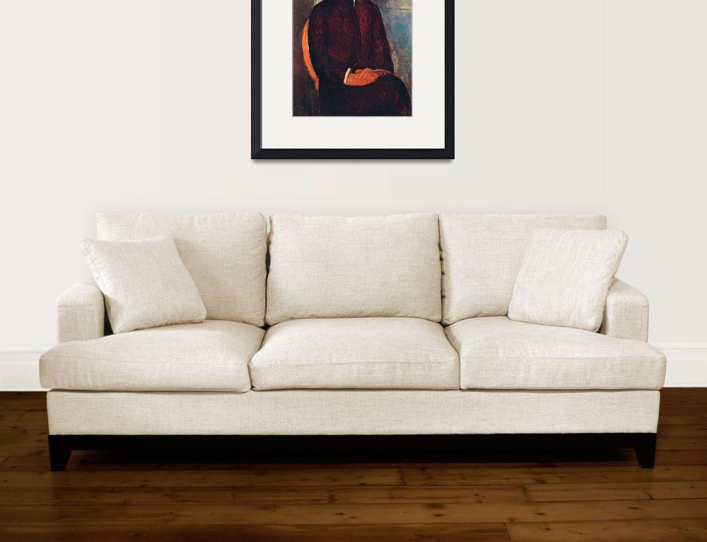 """Amedeo Clemente Modigliani Painting 76&quot  by ArtLoversOnline"