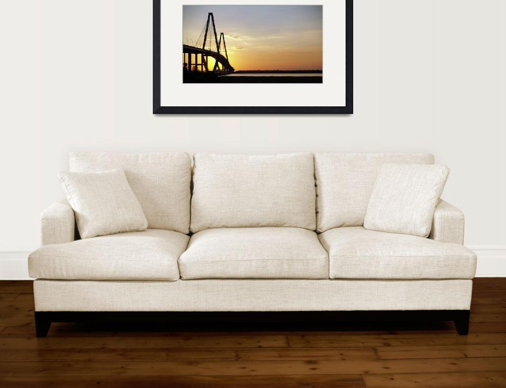 """Arthur Ravenel Bridge Charleston SC Photo by Ginet&quot  (2010) by GinetteCallaway"