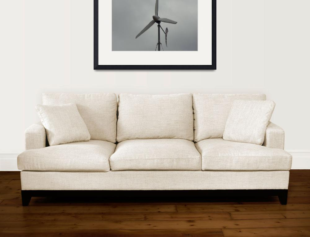 """Bergey Wind Generator 10kw&quot  by thinkpink"