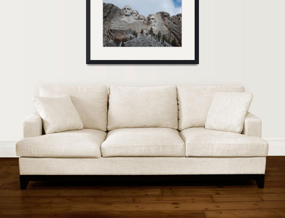 """Mount Rushmore Landscape&quot  (2010) by getfarid"