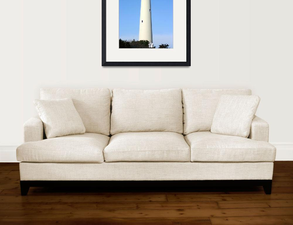 """Lighthouse at Cape May, NJ&quot  (2008) by DanTravisPhotography"