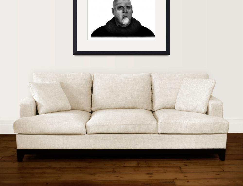 """Uncle Fester&quot  (2011) by axemangraphics"