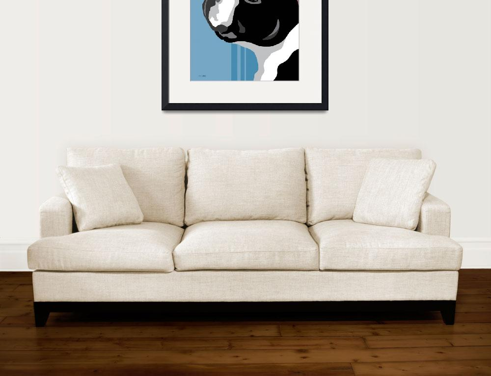 """Boston Terrier&quot  (2011) by waterart"